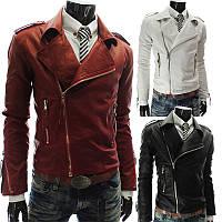 Куртка кожаная мужская, косуха байкерская.