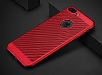 Пластиковый красный чехол PLV для iPhone 6 6S 7