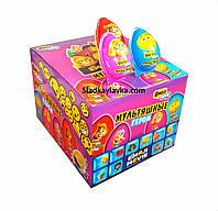 Яйцо шоколадное пластиковое Toy Мультяшные Герои 24 шт, 15 гр (Prestige)