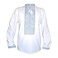 Вышиванка мужская Авторская вышиванка 54 Белый (5257)
