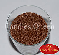 Свеча насыпная цвет молочный шоколад  500г+ фитиль