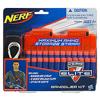 Патронташ Hasbro NERF Элит 24 стрелы (A0090)