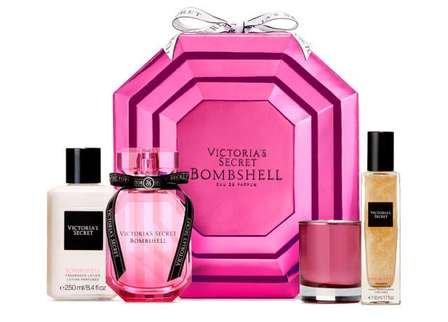 Набор Виктория Сикрет 4 в 1 Victoria's Secret Bombshell Luxury Fragrance Set оригинал