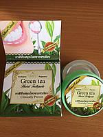 100% Травяная зубная паста на основе зеленого чая, мяты и других трав,30 гр.