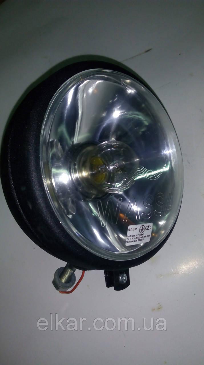 Фара-прожектор   ФГ-305И-02  12В МЕТАЛЛ (Україна)