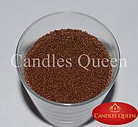 Стеарин цвет молочный шоколад 1 кг. Для насыпных свечей и литых, фото 1