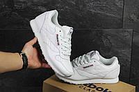 Мужские кроссовки Reebok Classic белые (Реплика ААА+), фото 1
