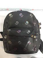 Маленький рюкзак для города цветы