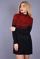 Платье-туника 7315, (2цв), туника тёплая, трикотажная туника
