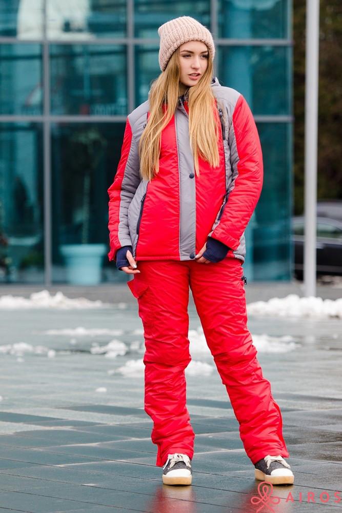 Женский зимний костюм, подходит для катания на лыжах - Интернет магазин  «leggi.prom f6746cb4817