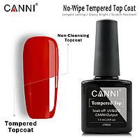Финишное покрытие усиленное CANNI без липкого слоя 7,3 ml   No wipe Tempered Top coat