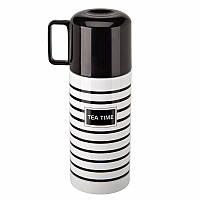 Термос TEA TIME 350 мл в тонкую полоску( Подарок на 14 февраля )