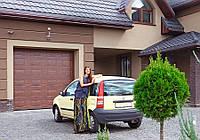 Секционные гаражные ворота Alutech филенка, фото 1