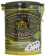 Чай зеленый Sun Gardens Soursop 100г.