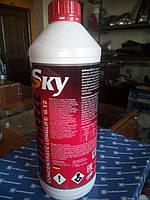 Концентрат охлаждающей жидкости красный SKY G12 -80C 1,5 л