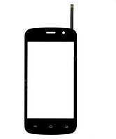 Сенсор (Touch screen) Bravis Jazz чёрный