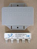 Коммутатор DISEqC 4x1 внешн. RCI-41W