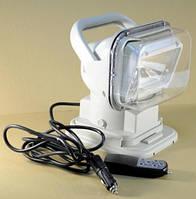 Поисковый прожектор для лодки и катера, ксенон с пультом д/у LSWC518white
