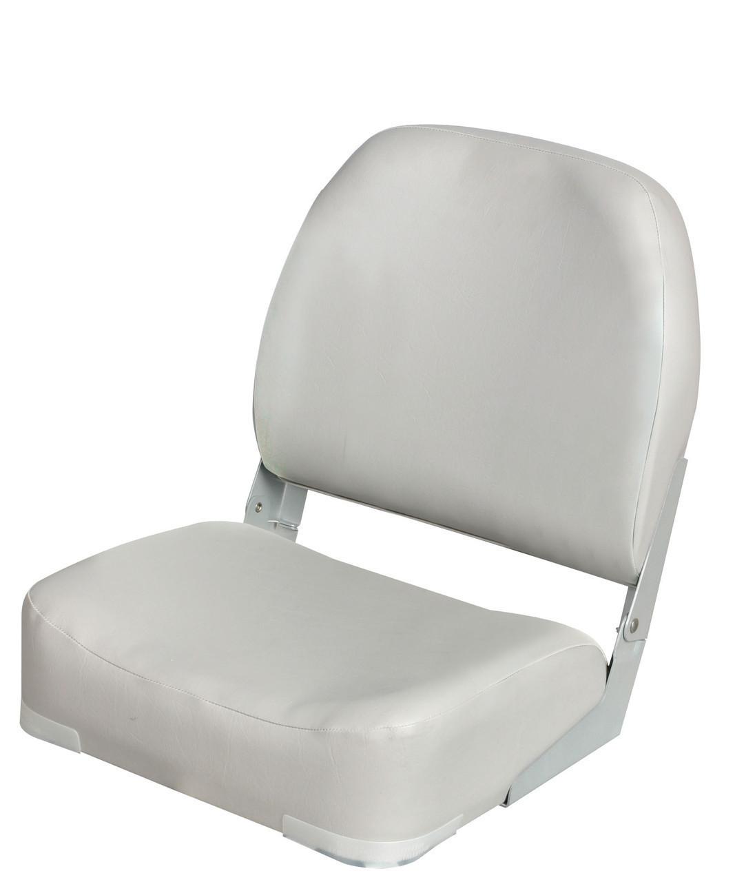Сидіння для човни, катери Fishing біле, сіре 86203W, G
