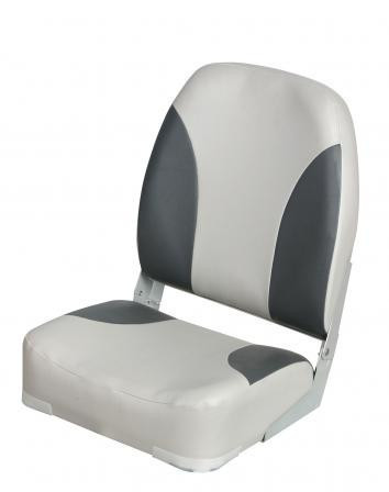 Сидіння для катери, човни, яхти Deluxe Highback сіро-чорне 86201G/C