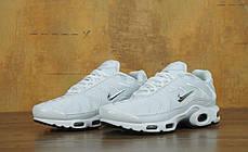 Мужские кроссовки Nike Air Max TN White топ реплика, фото 2