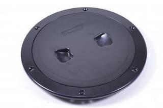 Лючок инспекционный, черный, диаметр 12,7см, C13023B6