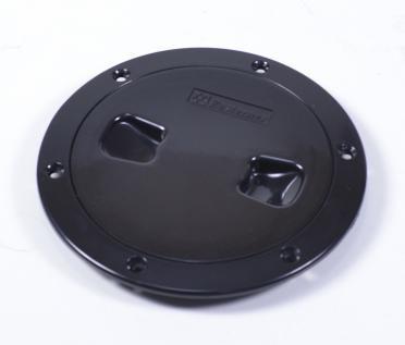 Лючок інспекційний для катери, човни, яхти чорний, діаметр 15,3 см, C13025B6
