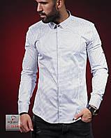Мужская брендовая рубашка - Турция - 01-13-546