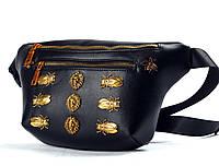 GUCCI Embellished Belt Bag black