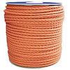 Верёвка нетонущая для лодки, катера, яхты 100м d=12мм оранжевая