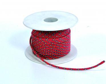 Верёвка для лодки, катера, яхты многоцветная22м, 2.5мм