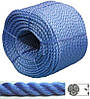 """Веревка 8мм, 200м/POLYESTER DOUBLE TWISTED ROPE """"BLUE COLOUR"""""""