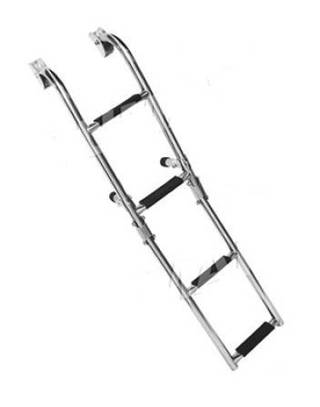 Лестница 200х1030мм, 2+2 ступени/S.STEEL LADDER