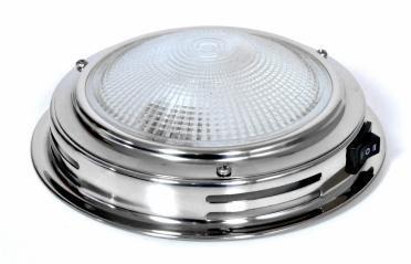 Светильник для каюты 140мм/DOME LIGHT IN S.STEEL