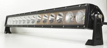 Прожектор-LED для лодки, катера, яхты планка, 140Вт, 12V, 12600 Lm, корпус алюминий, свет рассеяный