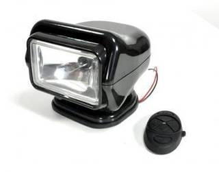 Прожектор-ксенон черный с д/у и креплением, 4400 Lm,  4300 K, 35Вт, Вес 3 кг, луч до 2 км.