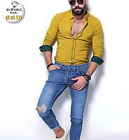 Брендовая мужская турецкая рубашка - 10-03-533