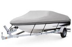 Чехол на катер 14 футов серый