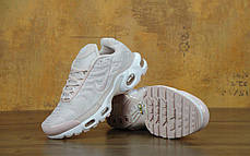 Кроссовки женские Nike Air Max TN нежно розовые топ реплика, фото 3