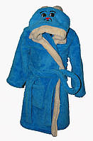 Детский халат с поясом