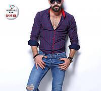 Мужская брендовая рубашка - Турция - 50-39-158