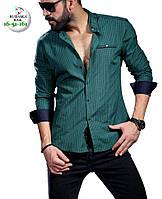 Брендовая мужская рубашка - Турция - 16-51-161