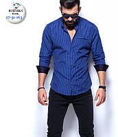 Брендовая мужская турецкая рубашка - 27-51-163