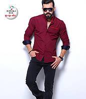 Брендовая мужская турецкая рубашка - 51-51-161