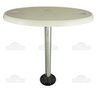 SF стол овальный 45х76см комплект основание пластик