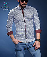 Брендовая мужская турецкая рубашка - 35-40-581