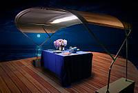 Светящийся тент на яхту