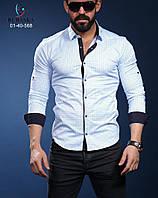 Мужская брендовая рубашка - Турция - 01-40-568