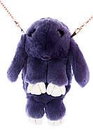 Сумка - зайка из натурального меха кролика