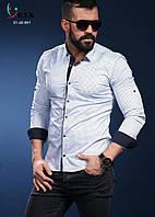 Мужская брендовая рубашка - Турция - 01-40-561